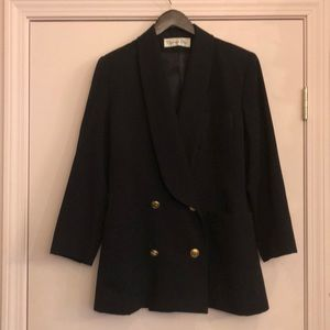 Christian Dior Vintage Black Blazer